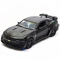 Машинка модель Автопром Chevrolet Самого (Шевроле Камаро) Чорний, 15 см (7863), фото 3