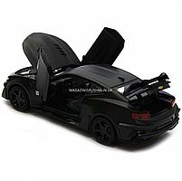 Машинка модель Автопром Chevrolet Самого (Шевроле Камаро) Чорний, 15 см (7863), фото 5