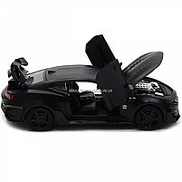 Машинка модель Автопром Chevrolet Самого (Шевроле Камаро) Чорний, 15 см (7863), фото 6