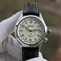 Часы Seiko SPB119J1 White Alpinist Automatic MADE IN JAPAN - 6R35
