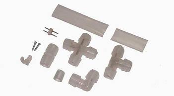 Аксессуары для светодиодных лент и неона 12V, 24V, 220V