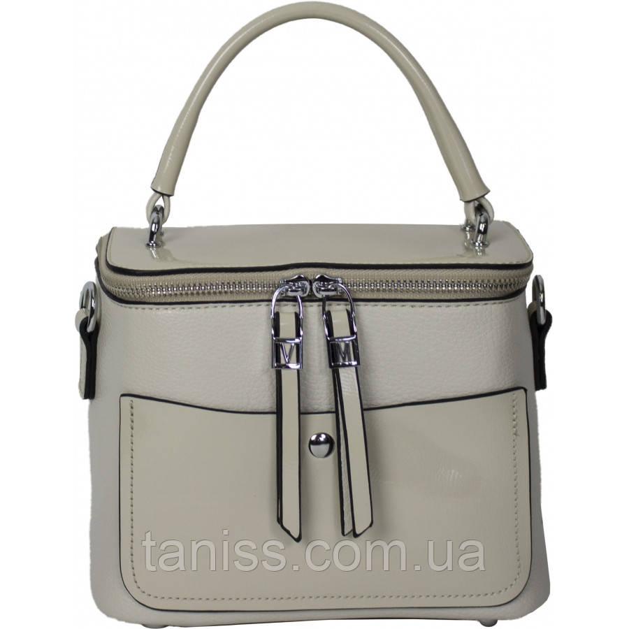 Стильний,елегантний,,жіночий клатч,матеріал екокожа і лак ,одна коротка ручка,одне відділення (82925-7)