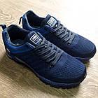 Кроссовки Bonote р.44 текстиль тёмно-синие, фото 6