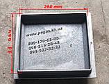 Дверцята чавунна (240х260 мм) грубу, барбекю, печі, мангал, чавунне литво, фото 3