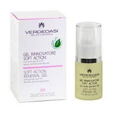 Восстанавливающий гель мягкого действия Verdeoasi Soft action renewal gel with glycolic acid 5%, 15 мл