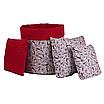 Подушка, 40*40 см, (бавовна), (червоний), фото 2