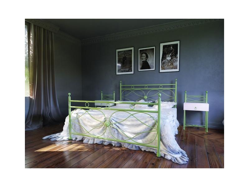 Металлическая кровать двуспальная Vicenza / Виченца Bella Letto 90х190