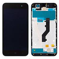 Дисплей для ZTE Blade A520 с сенсором (Black) Original PRC в рамке