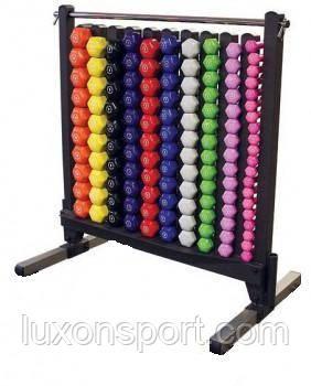 Стойка для фитнес гантелей Luxon Sport