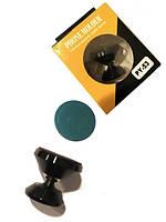Подставка п/моб. на магните на ножке короткая на скотче PY-53 Magnet Metall Silver/Black