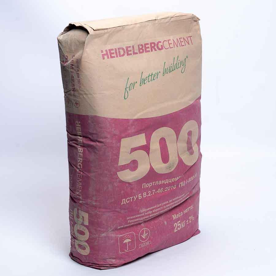 Цемент М-500 ПЦ (Кривой Рог) с доставкой