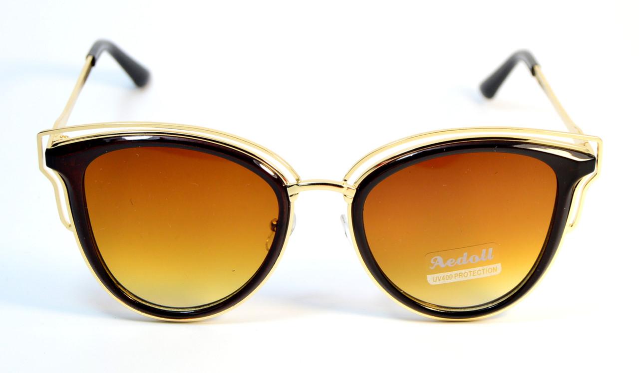 Стильные солнцезащитные очки (8348 С1)