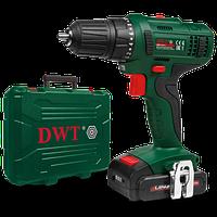 Аккумуляторный шуруповерт DWT ABS-14 L-2 BMC (14.4 В, 1.5 А/ч, двухскоростной)