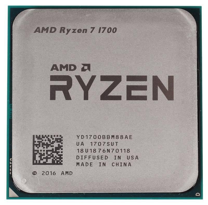 Процессор AMD Ryzen 7 1700 tray
