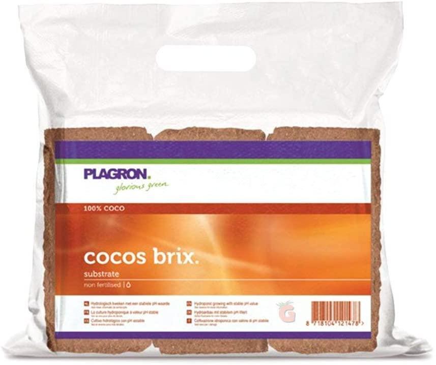 Кокосовый субстрат прессованный Plagron Cocos Brix