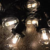 Уличная гирлянда на солнечной батарее 7м с LED лампами 10шт