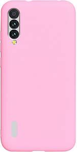 Чехол накладка для Xiaomi Mi A3 силиконовый матовый, Fresh Series, Розовый