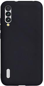 Чехол накладка для Xiaomi Mi A3 силиконовый матовый, Fresh Series, черный