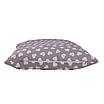 Подушка, 30*30 см, (хлопок), (мелкие сердечки на сером), фото 3