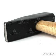 Молоток слесарный с деревянной рукояткой (800 гр.)   СИЛА 320116, фото 2
