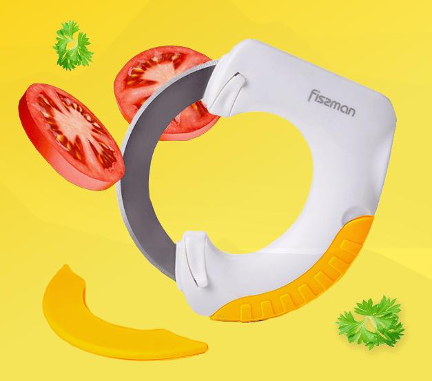 Самурай 360 - кухонный нож + сменное лезвие для смягчения мяса