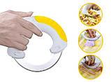 Самурай 360 - кухонный нож + сменное лезвие для смягчения мяса, фото 5