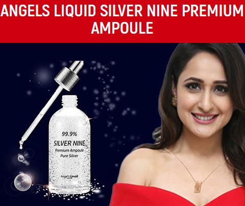 Сыворотка с серебром 99.9% Angels Liquid Silver Nine Premium Ampoule
