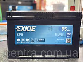 Автомобильный аккумулятор EXIDE EFB EL954 95Ah R+ Asia