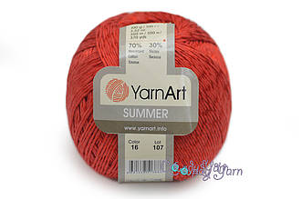 YarnArt Summer, Красный №16