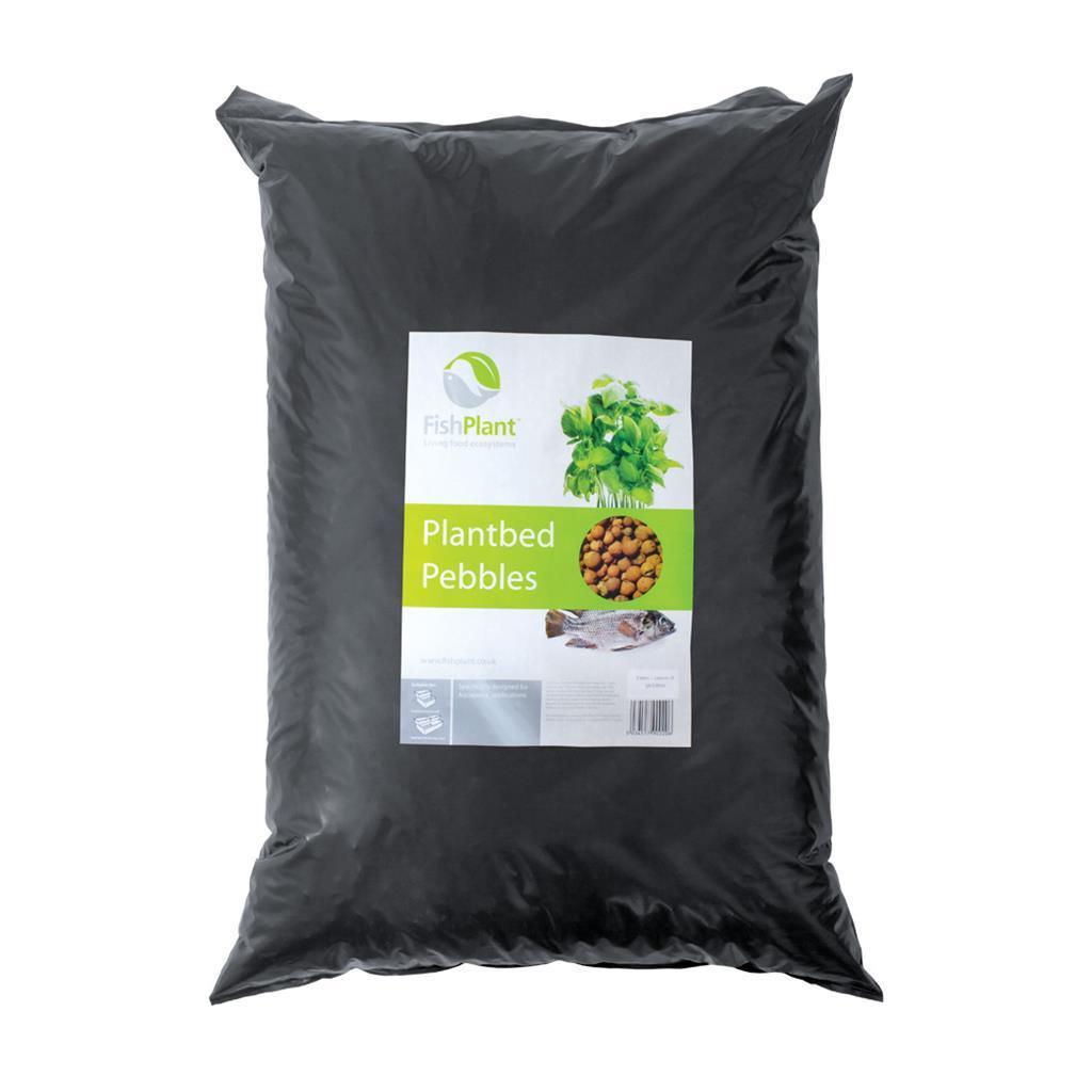 Cубстрат керамзитовый для аквапоники FishPlant PlantBed Pebbles 50л