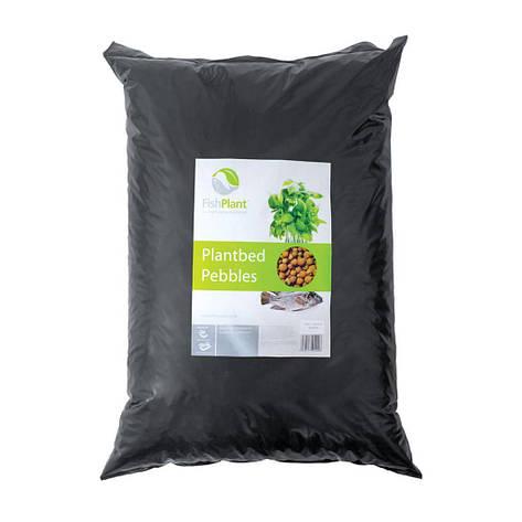 Cубстрат керамзитовый для аквапоники FishPlant PlantBed Pebbles 50л, фото 2