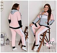 Женский  трехцветный молодежный батальный спортивный костюм. 3 цвета!