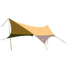 Тент GreenCamp GC-0886Y, коричневый (560*500*250 см)