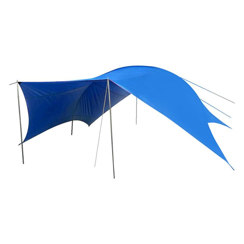 Тент GreenCamp GC-0996, синий (510*610*265 см)