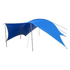 Тент GreenCamp GC-0996,синий (510*610*265 см)