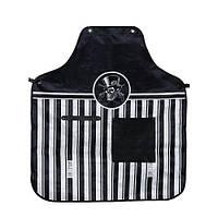 Фартук Barber в полоску с карманом (ткань)