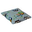 Подушка, 30*30 см, (бавовна), (совушки на блакитному), фото 2