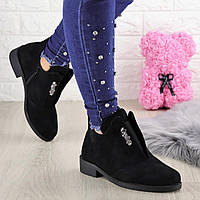 Ботиночки женские черные Kendy 1418