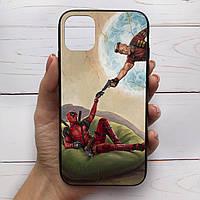 Чехол для iPhone с рисунком Дэдпул картина (65)