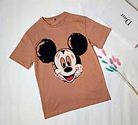 Женская футболка Микки