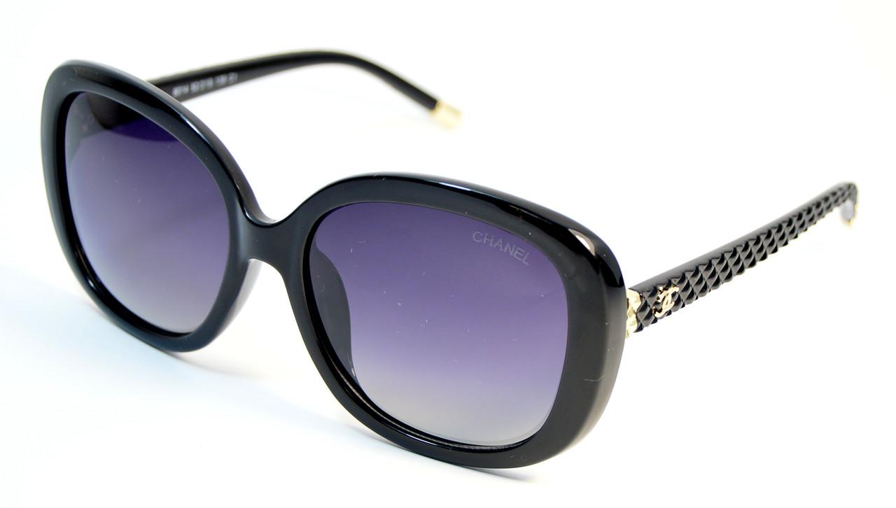 Жіночі оригінальні окуляри Chanel Polaroid (8014 C1)