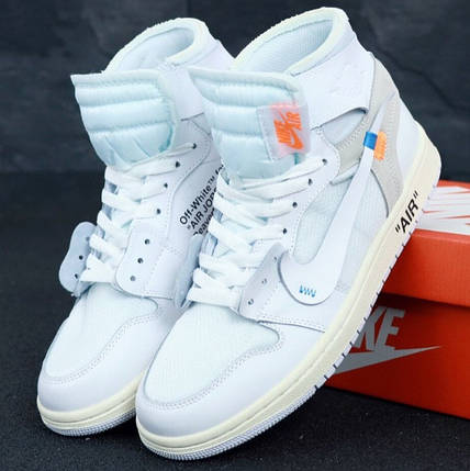 Мужские кроссовки OFF-WHITE x Nike Air Jordan 1, фото 2