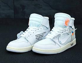 Мужские кроссовки OFF-WHITE x Nike Air Jordan 1, фото 3