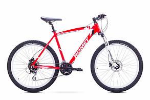 """Велосипед ROMET 2017 RAMBLER  26""""4  рама 20"""" (L) червоно-білий"""