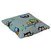 Подушка, 40*40 см, (бавовна), (совушки на блакитному), фото 2