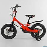 Велосипед детский Corso Magnesium MG-66936 ,магниевая рама,дисковые тормоза,литые диски, колеса 14 дюймов, фото 3