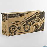 Велосипед детский Corso Magnesium MG-66936 ,магниевая рама,дисковые тормоза,литые диски, колеса 14 дюймов, фото 6