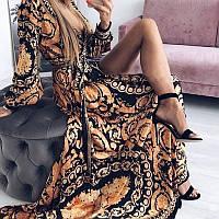 Длинное женское летнее платье НОВИНКА!!