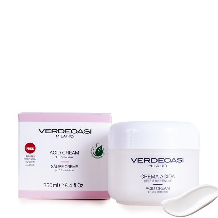 Балансирующий крем с уровнем pН 3,5 Verdeoasi Acid cream pH 3,5 stabilized, 250 мл
