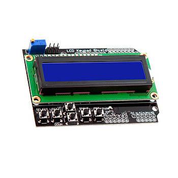 LCD keypad shield 1602 шилд дисплей для ардуино